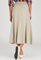 JEEP - Ankle Length Skirt Stone