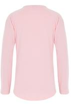 POLO - Gretchen Sequined Tee Pale Pink