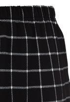 Rebel Republic - Bodycon Skirt Black and White