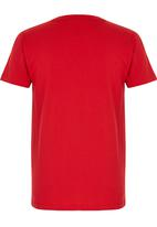 POLO - Rick Ss Crew Neck Tee Red