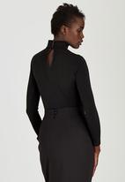 Gert-Johan Coetzee - Twist Bodysuit Black