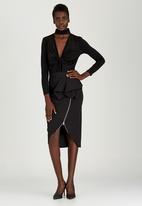 Gert-Johan Coetzee - Zipped Skirt Black
