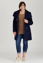 edit Plus - Trench Coat Navy