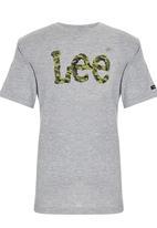 Lee  - Camo Tee Grey