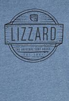 Lizzard - Printed T-Shirt Pale Blue