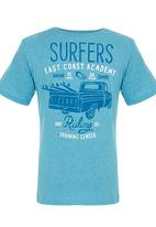 Lizzard - Printed T-Shirt Dark Blue