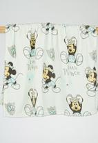 Character Baby - Mickey Mouse Coral Fleece Throw Pale Blue