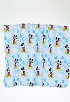 Character Baby - Mickey Mouse Receiving Blanket Pale Blue