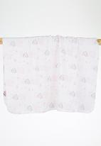 Character Baby - Minnie Mouse Receiving Blanket Pale Pink