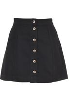 STYLE REPUBLIC - Mini A-Line Skirt Black