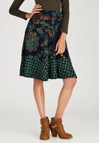 Sway - Flair Skirt Navy