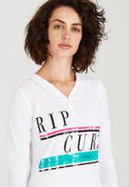 Rip Curl - Coco Hooded Tee White