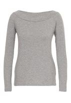 c(inch) - Bardot Top Grey