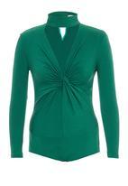 Gert-Johan Coetzee - Twist Bodysuit Mid Green