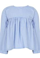See-Saw - Blouse Mid Blue