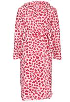Twin Clothing - Girls Heart Gown Multi-colour