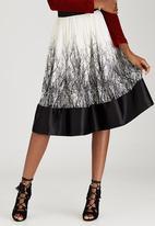 Sober - Black Forest Skirt Black and White