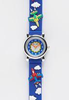 Cool Kids - Cool Kids Planes Watch Multi-colour