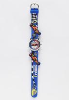Cool Kids - F1 Racing car watch Dark Blue