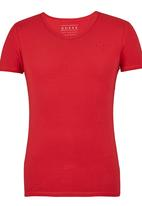 GUESS - S/S Core Collection Tee Red