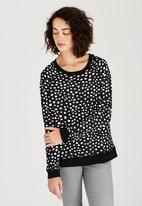 Billabong  - Dead Cute Sweater Black and White