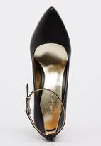 Sam Star - Leather Sport Deluxe High Heels Black