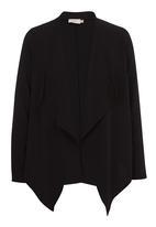 edit - Drape Jacket Black