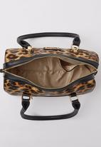 Pierre Cardin - Leopard Barrel Bag Animal Print