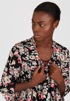 ONLY - Ewan Floral Print Boho Blouse Multi-colour