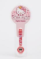 Character Fashion - Hello Kitty  Digital Watch Pale Pink