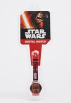 Character Fashion - Star Wars Digital Watch Red