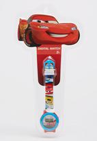 Character Fashion - Cars Digital Watch Red