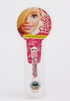Character Fashion - Barbie Digital Watch Pale Pink