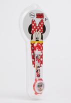 Character Fashion - Minnie Mouse Digital Watch Red