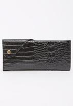 Pierre Cardin - Croc Purse Black