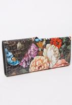 Pierre Cardin - Floral Purse Multi-colour