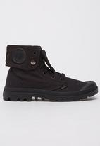 Palladium - Baggy High-top Sneakers Black