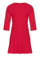 GUESS - Skater Dress With Embelishment Dark Pink