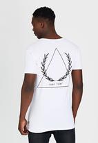 Silent Theory - Pyramid T-Shirt White
