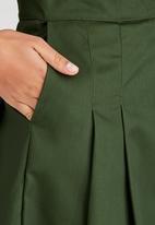 adam&eve; - Ninette Pleated Skirt Green