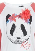 Roxy - Panda Love - Longsleeve Tee Multi-colour