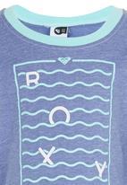 Roxy - Little Currents - Longsleeve Tee Mid Blue