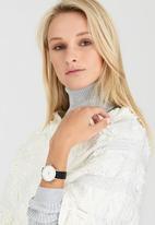 Nixon - Kensington Leather Watch Black