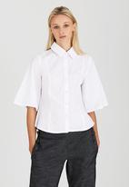 adam&eve; - Lilia Shaped Shirt White
