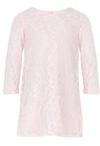 See-Saw - Lace Shift Dress Mid Pink
