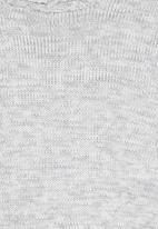 Rebel Republic - Knitted Jersey Grey