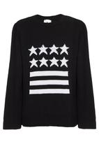 Rebel Republic - Star and Stripes Jersey Black