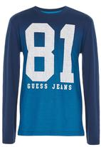 GUESS - Gradiant 81 Tee Mid Blue