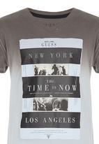 GUESS - New York Screen Tee Grey