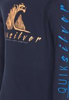 Quiksilver - Cold December Boys - Longsleeve Tee Navy